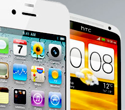 htc one x vs iphone 4s