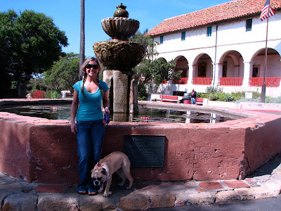 Mission Santa Barbara, Santa Barbara, CA www.thebrighterwriter.blogspot.com #California