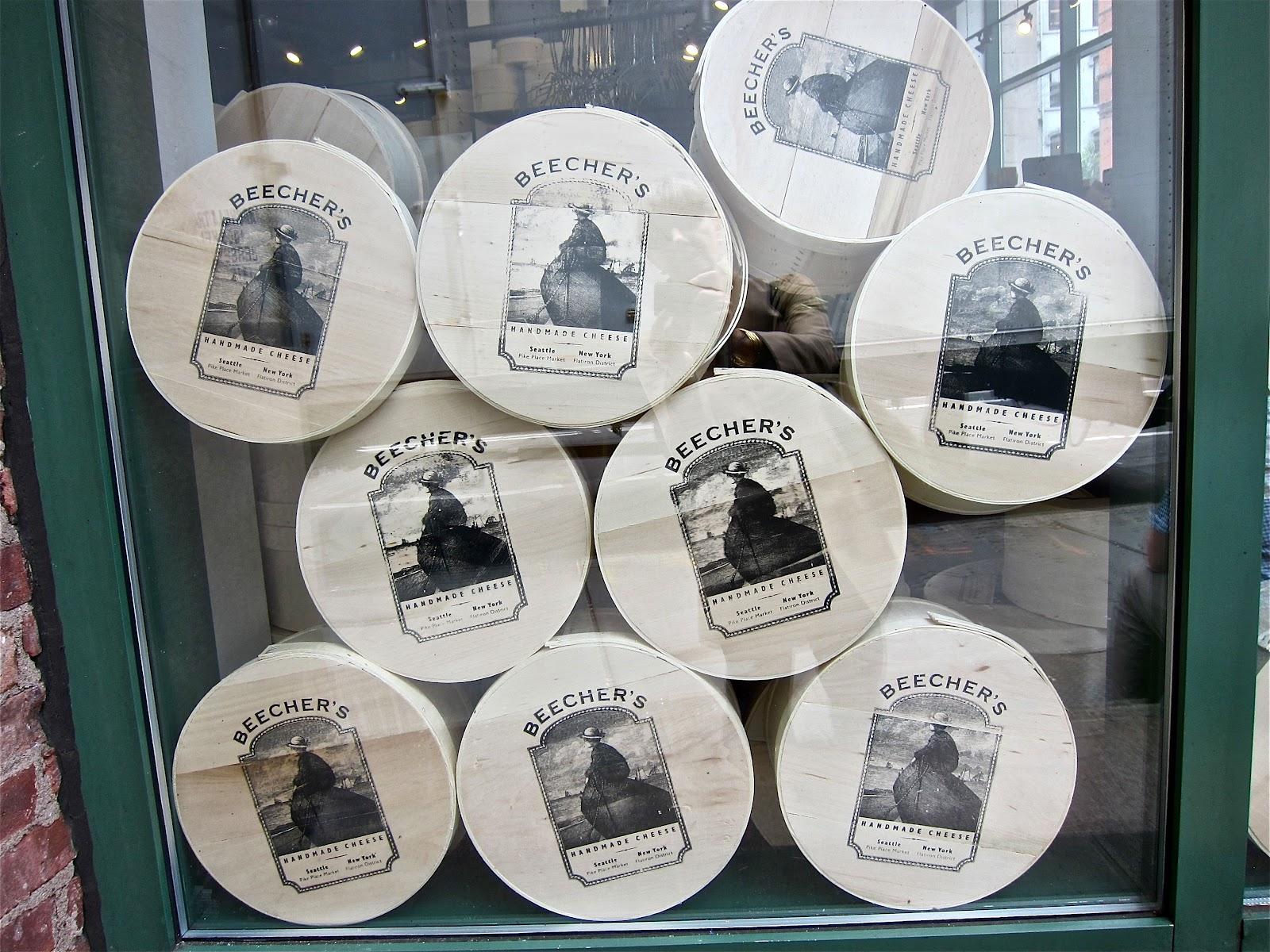 contessanally: NYC: Beecher\'s cheesemakers.