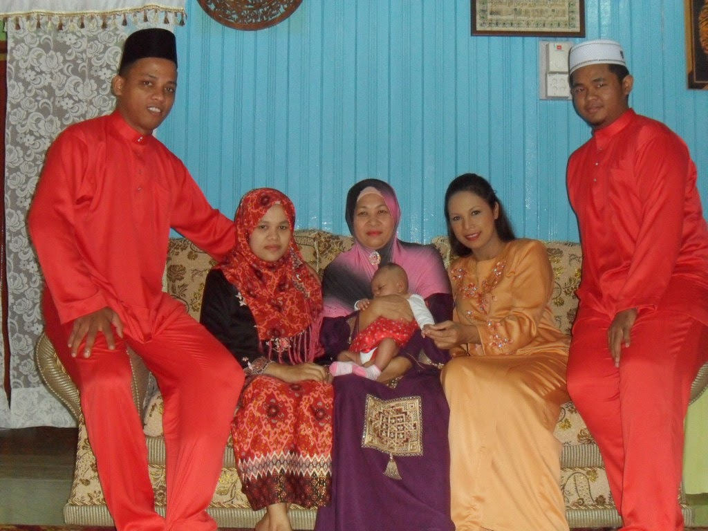 my great family 2013 Eid Fitri