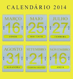 Calendário CPO 2014