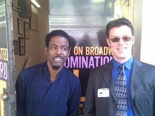 Chris Rock and me are best buds