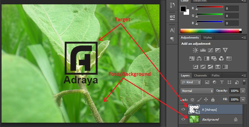 Adraya Blog: Membuat Watermark dengan Photoshop