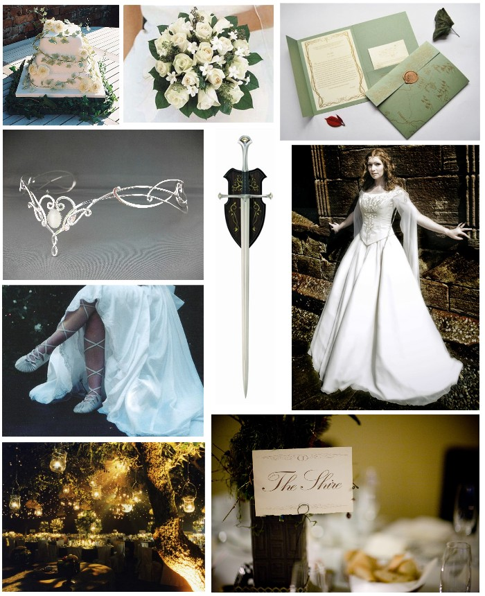 I plight thee my troth the elvish inspired wedding for Elven inspired wedding dresses
