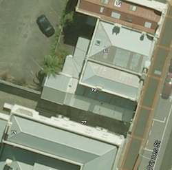 Google Earth - overhead view