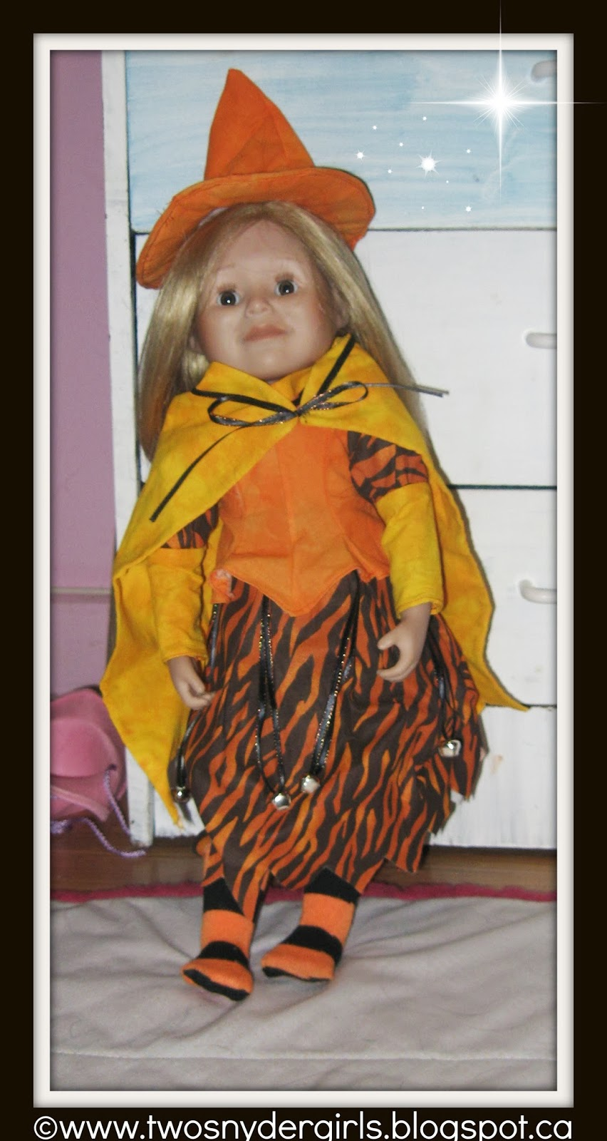 Maplelea Doll 18 inch in Halloween dress