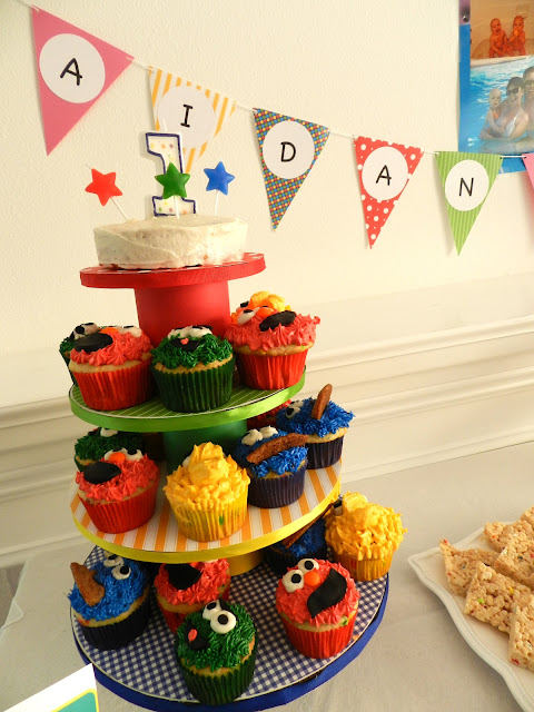 Sesame Street Twins Birthday