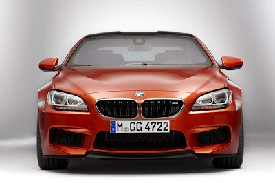 2012-BMW-M6-Red-Color-Front-View