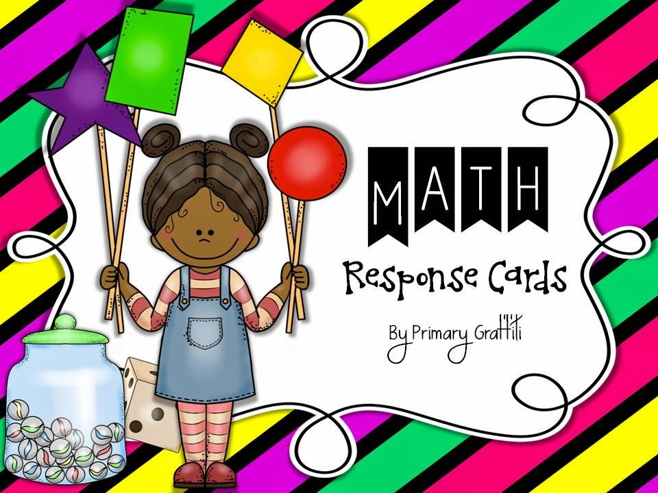 http://www.teacherspayteachers.com/Product/Math-Response-Cards-135594
