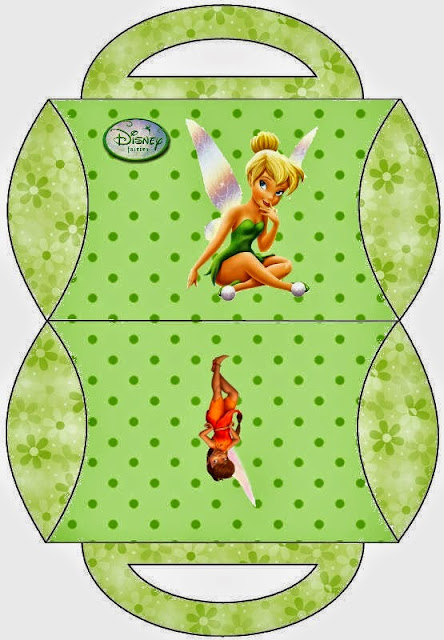 Tinkerbell Free Printable Pillow Boxes Oh My Fiesta
