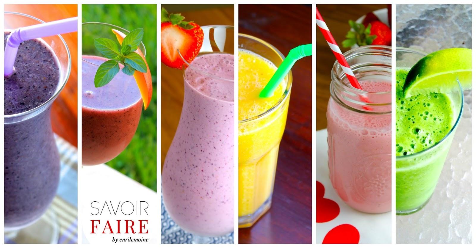 Savoir faire 6 batidos de frutas naturales para elegir - Batidos de frutas ...