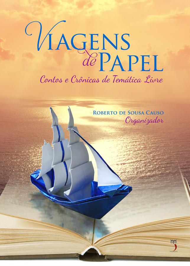 Uma das autoras do livro Viagens de Papel, da Andross Editora, com o conto Fora de Nossas Mentes