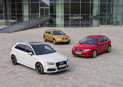 Το Audi A3 γιορτάζει την 20η επέτειό του