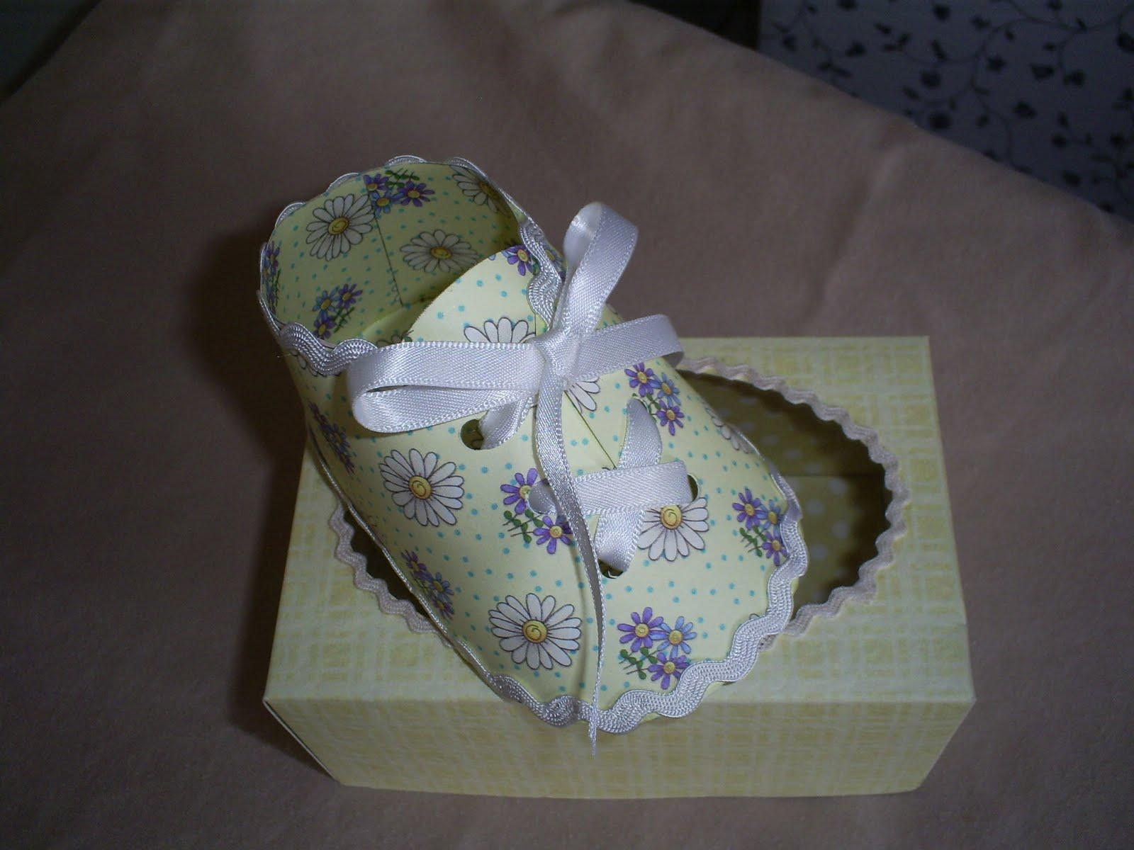 Gemini Designs UK : Lemon Baby shoe