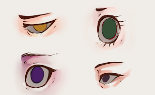 How To Draw And Color Eyes 5