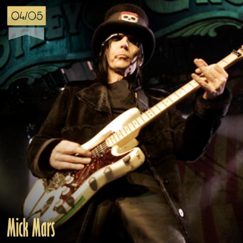 4 de mayo | Mick Mars - @mrmickmars | Info + vídeos