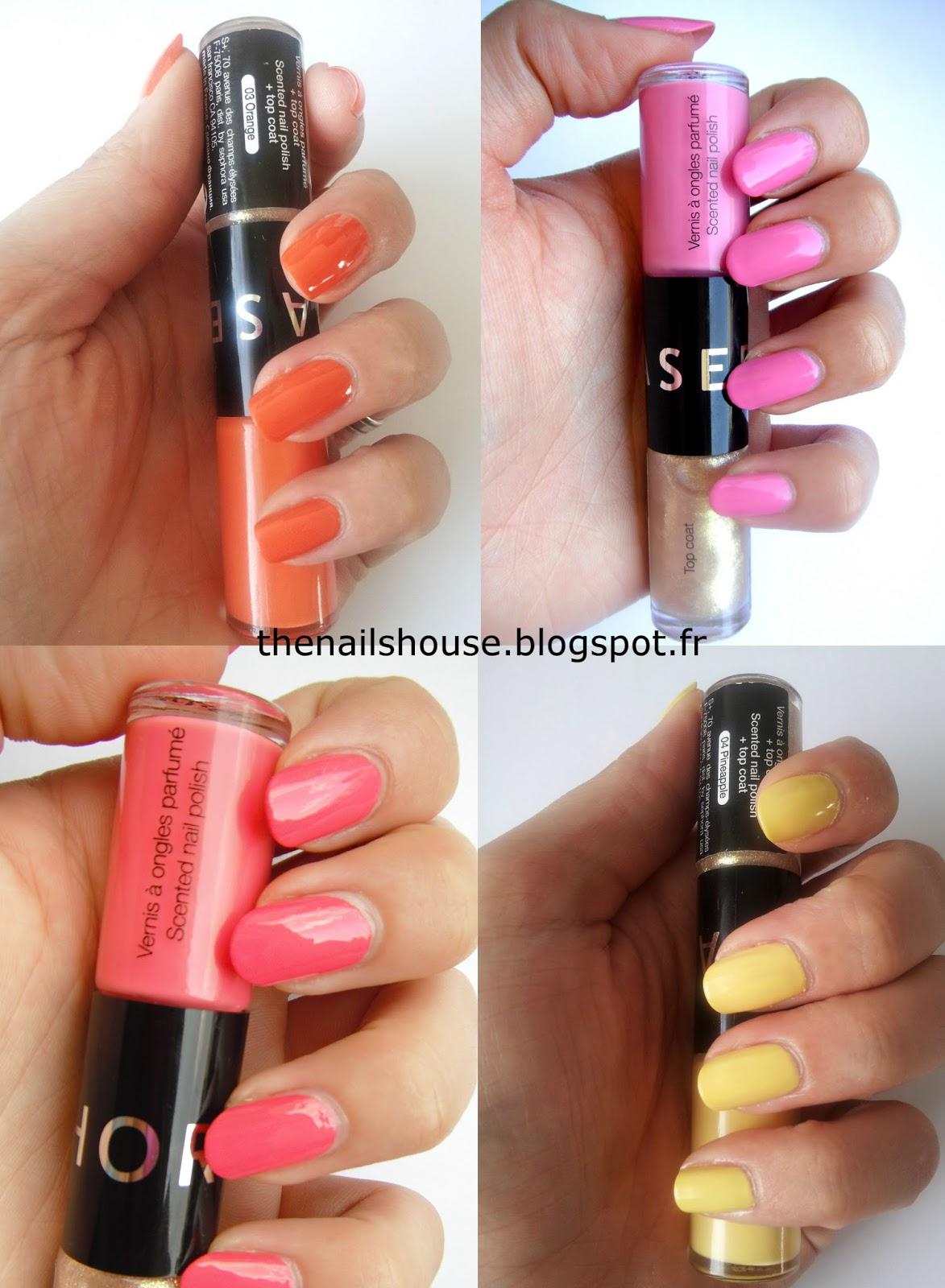 les vernis 224 ongles parfum 233 s par sephora the nails house