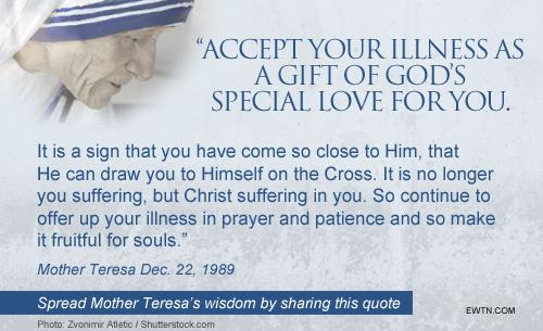 Words from Blessed Mother Teresa