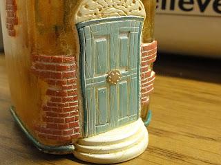 Paper Sensei Spice Jar Tooth Fairy House