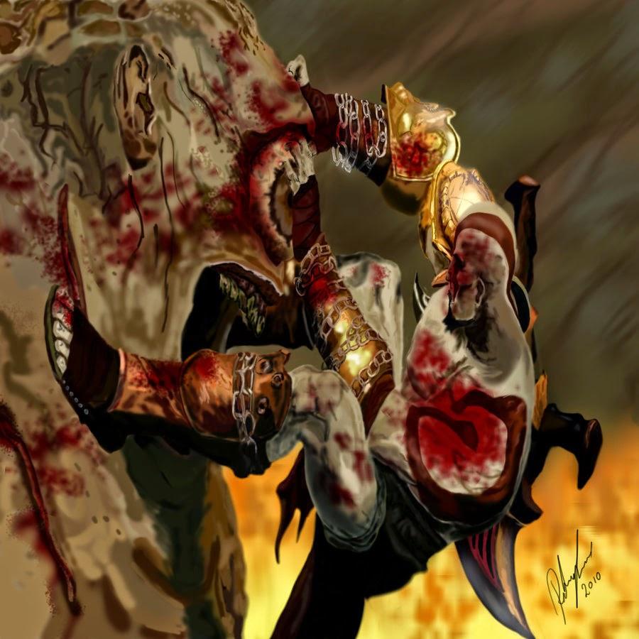 L-Andprime Acessórios Personalizados.: God Of War I,II,III