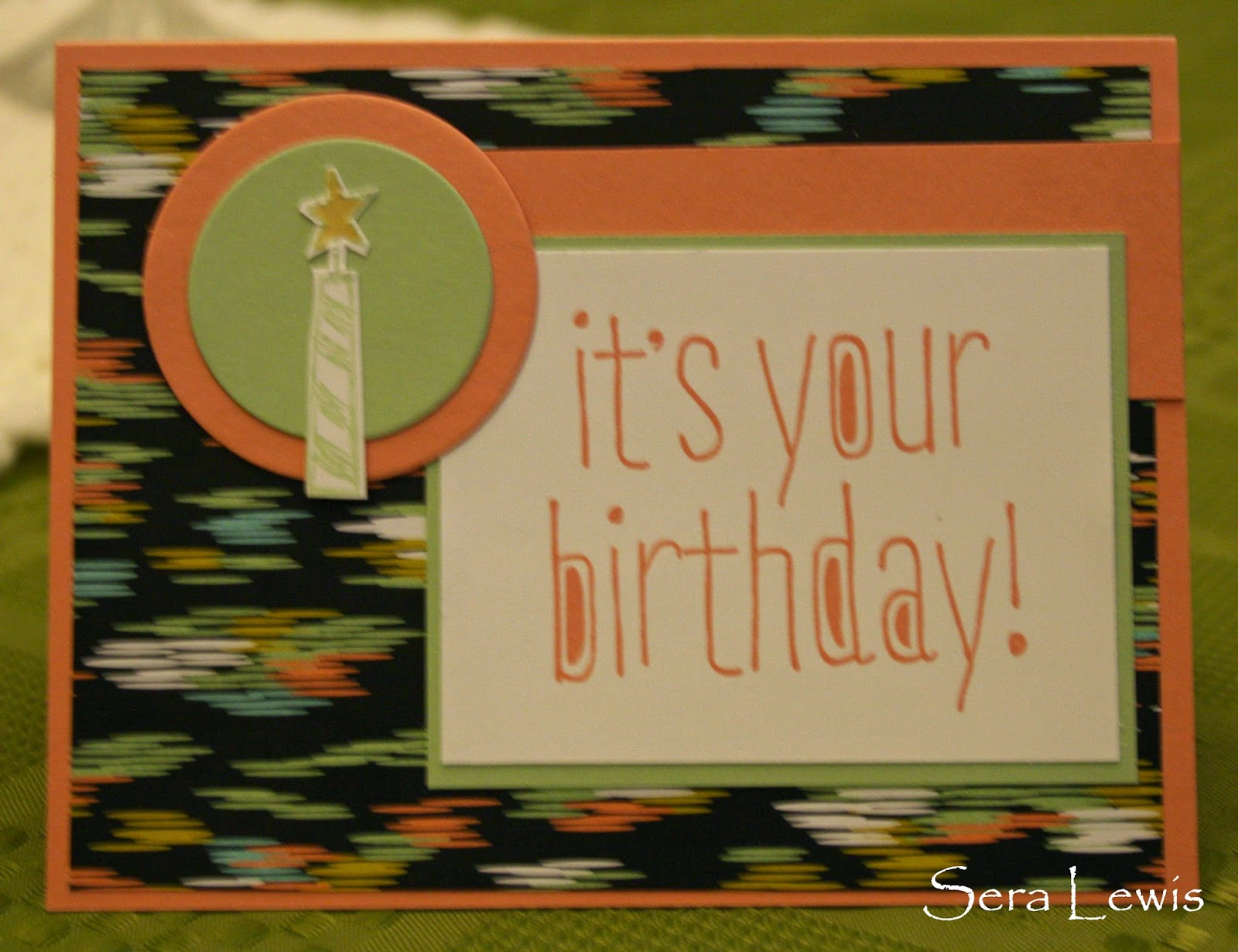 This birthday card would be good for anyone in the office!