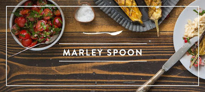 My happy kitchen test: Marley Spoon foodbox
