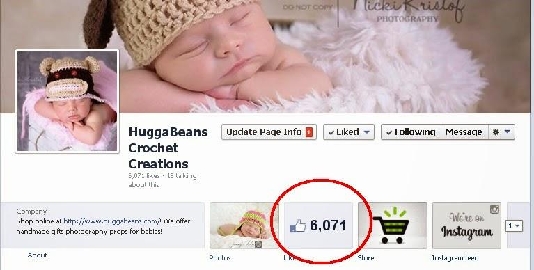 https://www.facebook.com/HuggabeansCrochetCreations