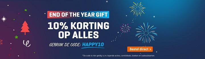 Nu 10% korting op alles met de kortingscode: HAPPY10