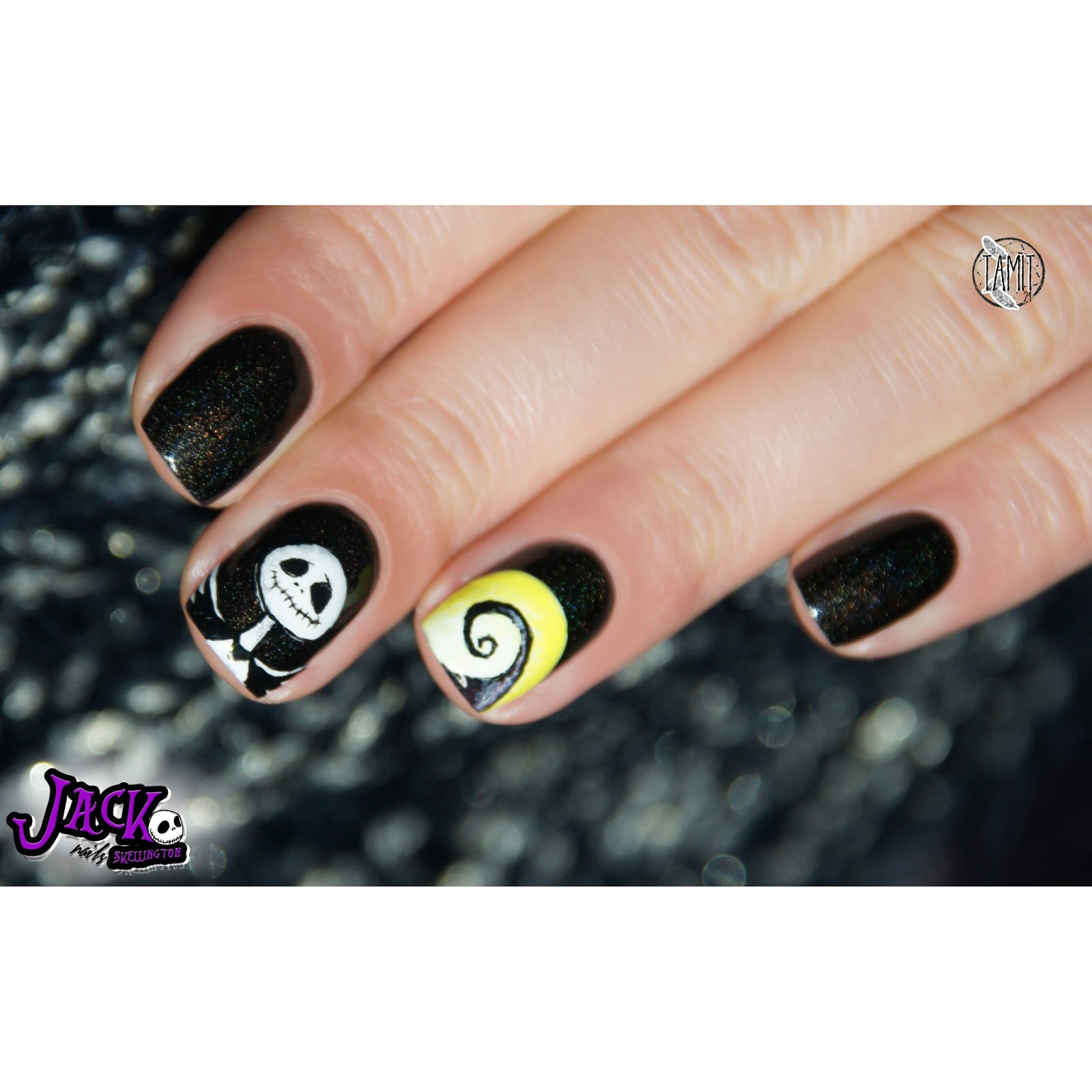 Outstanding Jack Skeleton Nails Ideas - Nail Polish Ideas ...
