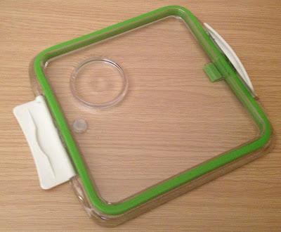 bento box lid plate