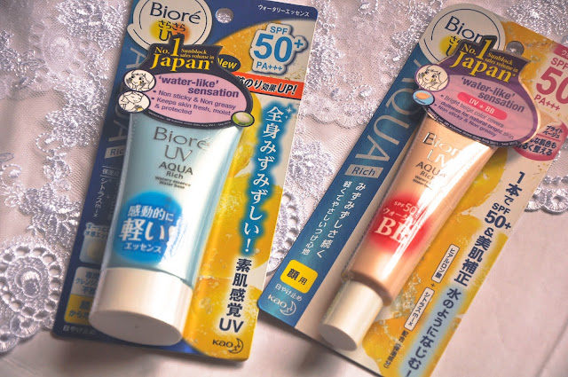 Biore UV Aqua Rich Sunscreen SPF50+ PA+++