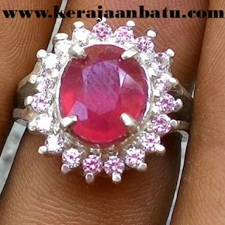 NATURAL RUBY CORUNDUM FOR LADIES KODE KB401