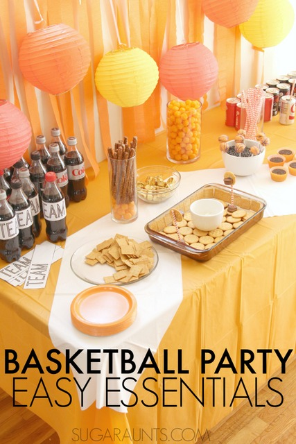 basketball theme party ideas the ot toolbox