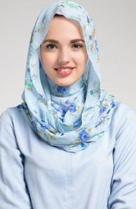 Menggunakan Jilbab Dengan Wajah Bulat