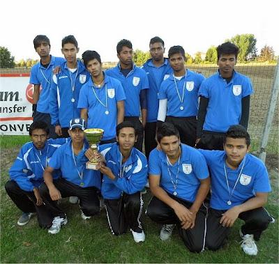 Poggio San Marcello Cricket - Campione d'Italia Under 17 2013