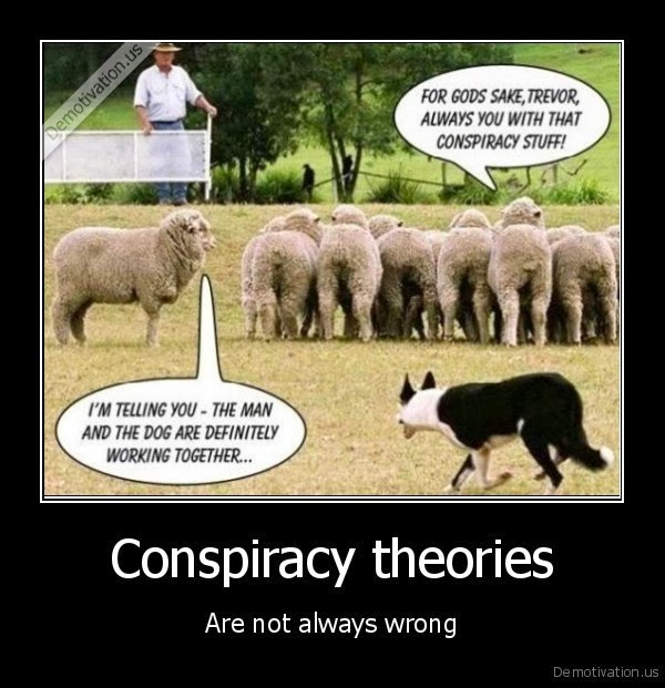 What is a conspiracy theory good enough for me to write about in a research paper?