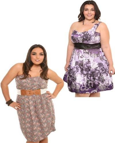 Imagenes de vestidos para gorditas con panza