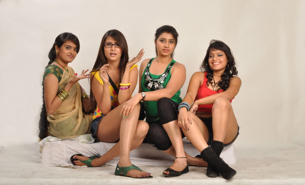 outh Indian Masti Movie Girls Photoshoot