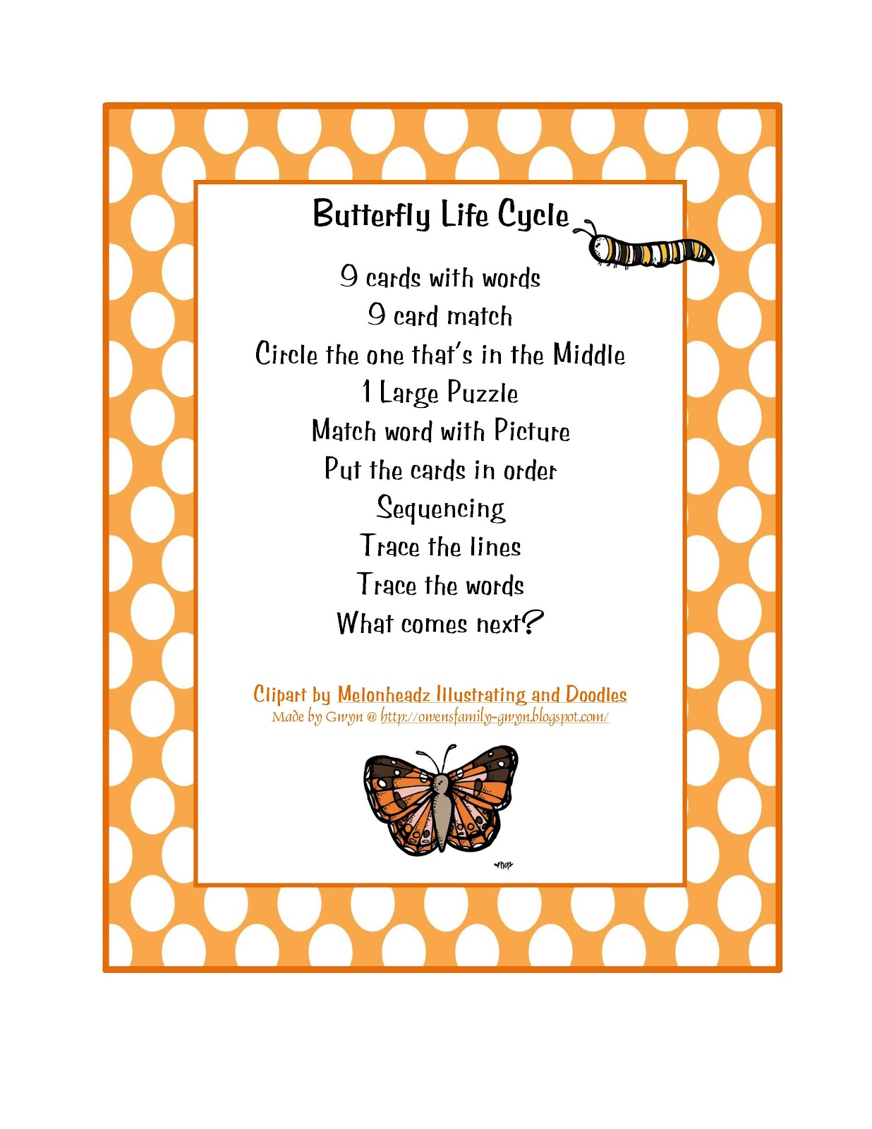 It's just an image of Comprehensive Butterfly Life Cycle Printable