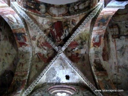 Pinturas Iglesia Salardu, Romanico Aran
