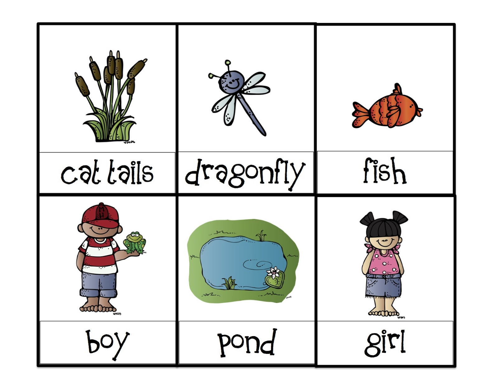 Printable Preschool Pond Life additionally pond life worksheet