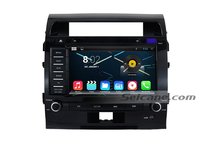 navigation system voiture mise jour pour 2008 2009 2010 2011 2012 toyota land cruiser 200 gps. Black Bedroom Furniture Sets. Home Design Ideas