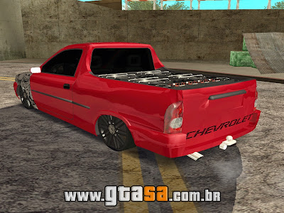 Chevrolet Corsa Pick-Up Edit + Som para GTA San Andreas