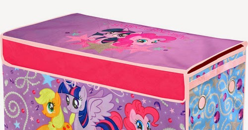 My Little Pony Collapsible Storage Trunk Listed On Walmart Website | MLP  Merch