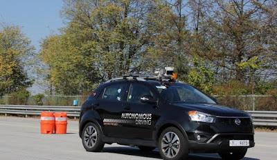 Δοκιμές αυτόνομης οδήγησης από τη SsangYong