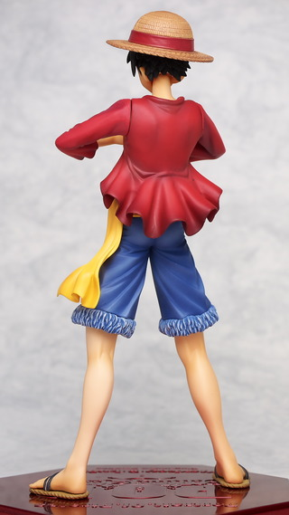 Excellent Model P.O.P. One Piece Sailing Again Monkey D. Luffy