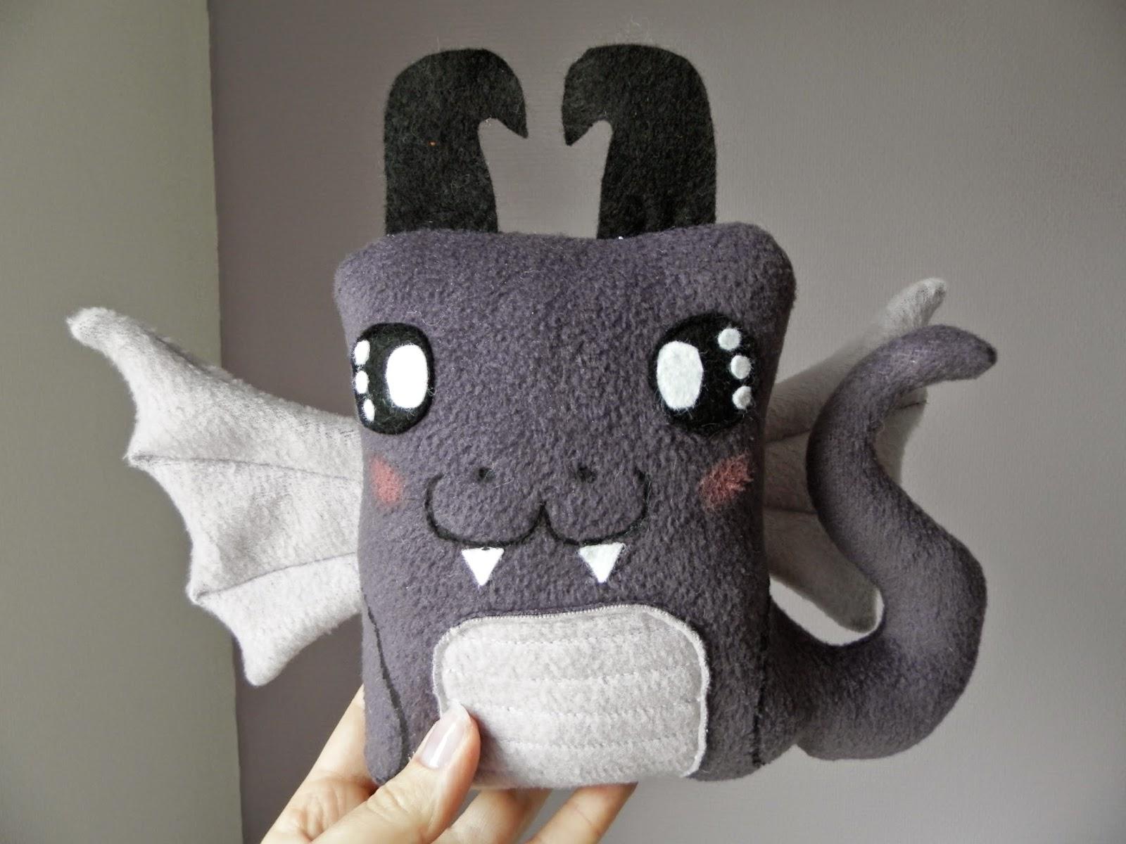Coton et Création : doudou dragon