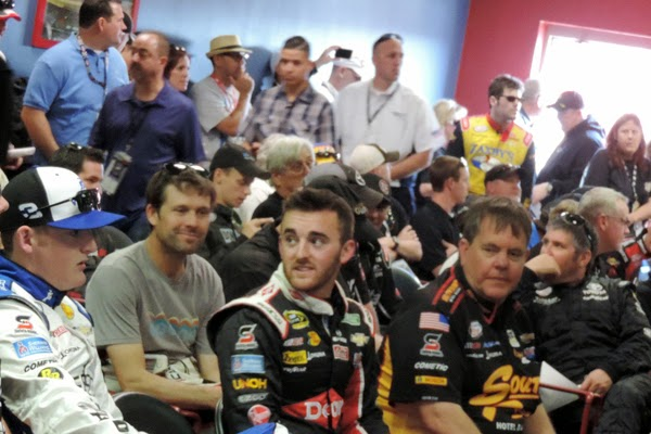 Dillon Brothers at the Driver's Meeting