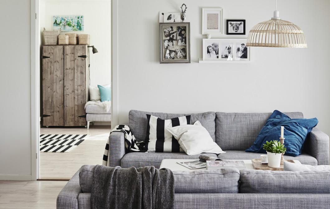 Hjemmet vårt ble publisert på IKEAs hjemmesider nasjonalt og internasjonalt - fargetema