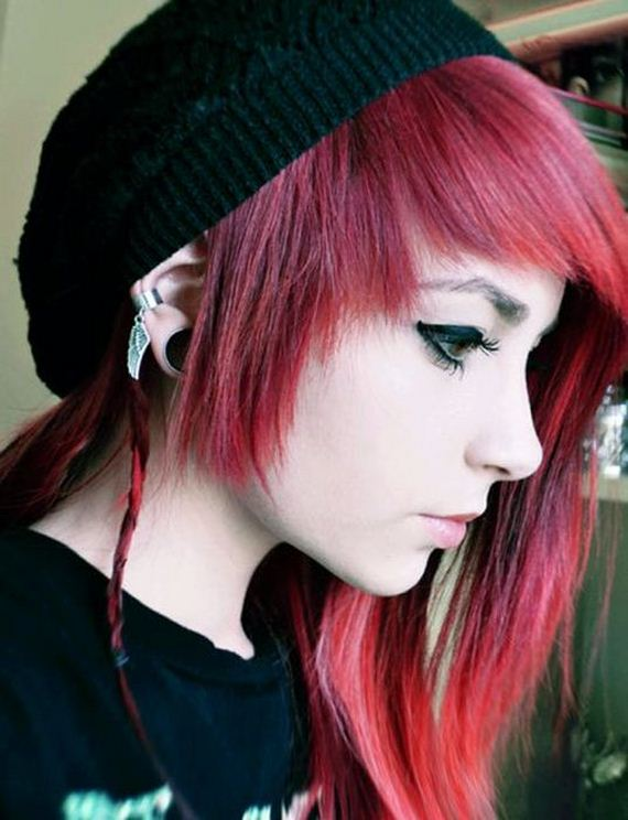 Red haired anime boy tumblr